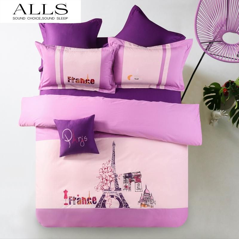 online kaufen gro handel bed cover tower eiffel aus china bed cover tower eiffel gro h ndler. Black Bedroom Furniture Sets. Home Design Ideas