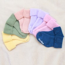2016 Infant Baby Girls Boys Winter Comfortable  Cute Warm Solid Socks Fashion
