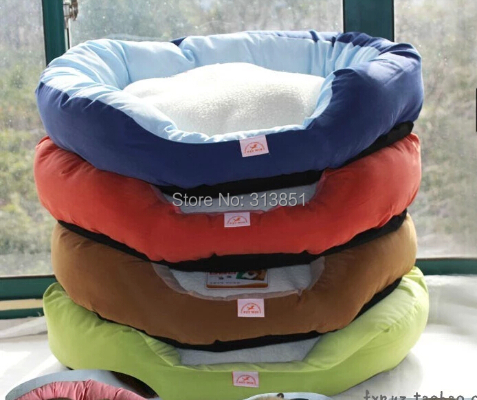 Pet Products Supplies Dog Cushion Bed House Bed For Cat Cushion Kennel Pens Sofa Warm Cute Soft Material 1PC(China (Mainland))