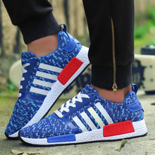 Mens Casual Shoes New 2016 Spring Summer Breathable Mesh Canvas Flat Walking Trainers Basket Shoes Zapatillas Deportivas Mujer
