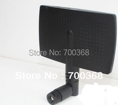 2.4G 8dBi High Gain Wifi PANEL Antenna, 2.4G panel antenna with RP SMA female connector(China (Mainland))
