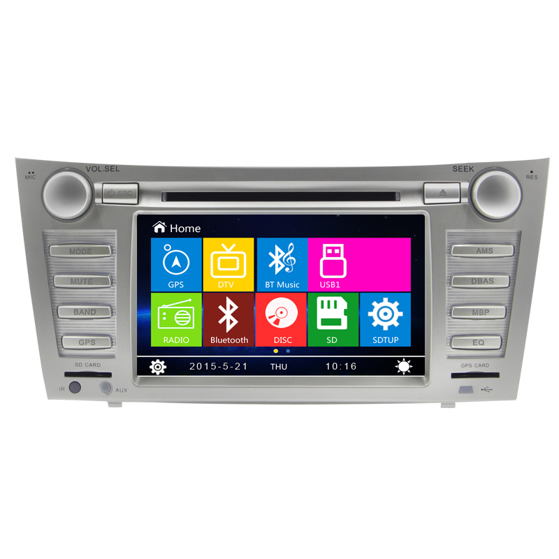 in Dash Car DVD Player GPS Radio Stereo FOR Toyota Camry before 2012 year Central DVD GPS touch screen car stereo radio audio(China (Mainland))