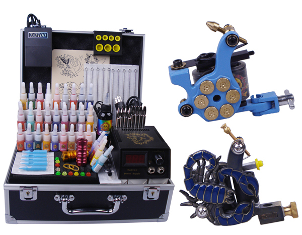 Professional body piercing kit tattoo starter set 2 top for Best tattoo starter kit
