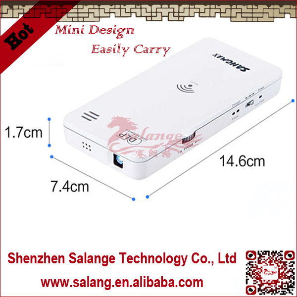 Wireless wifi Mini Cinema Multimedia DLP Projector for smartphone(China (Mainland))