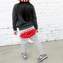Baby Kids Boys Girls Chic Zipper Casual Harem Pants Sport Loose Trousers