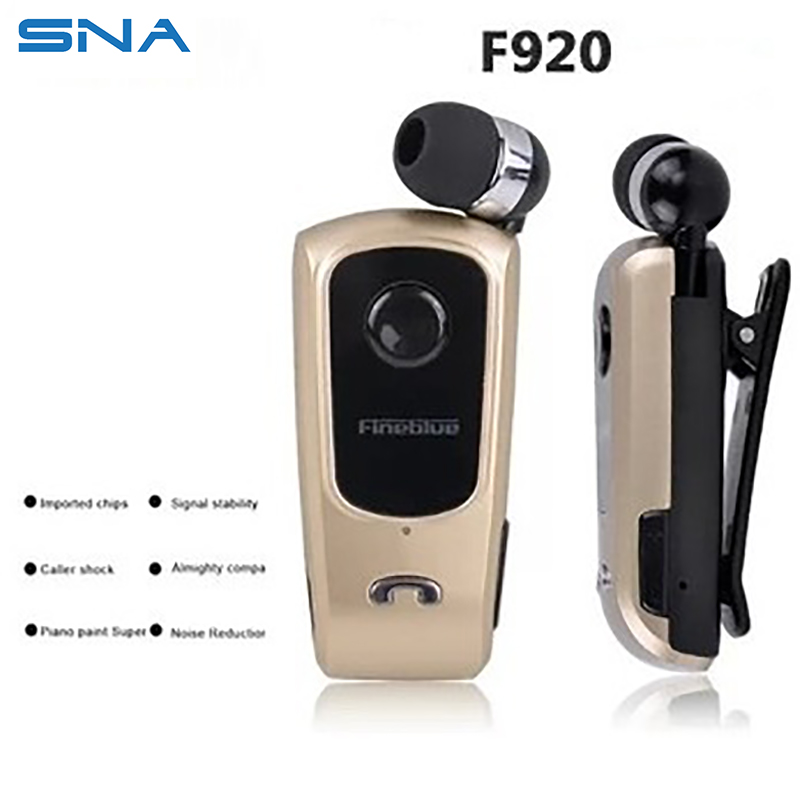 Orangial F920 Bluetooth Headphones for Lenovo Phone Head set Wear Clip Earphone Wireless Earplugs for Mobile Phone Samsung Apple(China (Mainland))