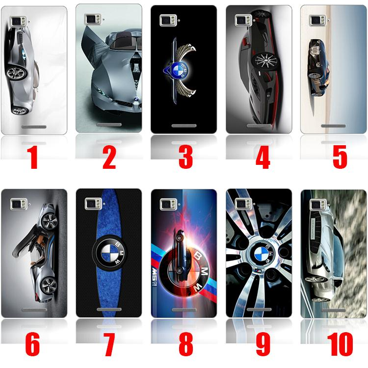 Anti-knock Phone For BMW Logo Luxury 3D Painted Hard Case Cover For Lenovo A320T&A850&K920 Design custom Free Shipping(China (Mainland))