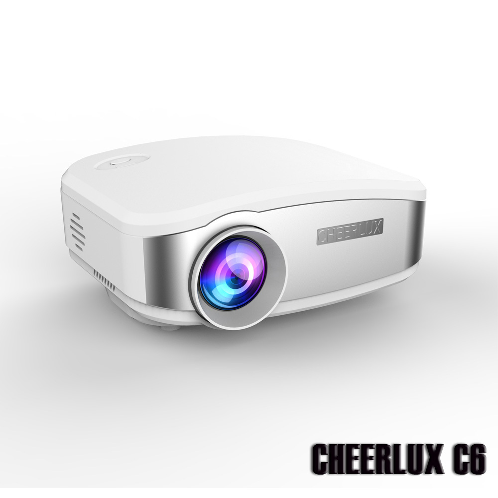 brand new 2015 newest cheerlux c6 lcd mini projector led. Black Bedroom Furniture Sets. Home Design Ideas