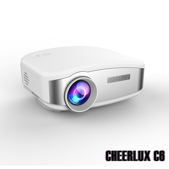 Brand new 2015 newest cheerlux c6 lcd mini projector led for Best mini projector 2015