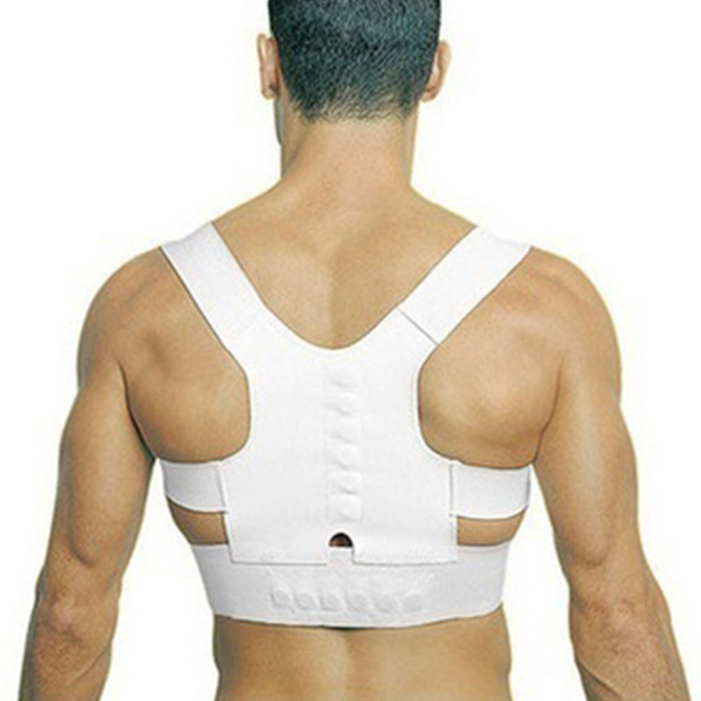 Adjustable Back Therapy Shoulder Magnetic Posture Corrector for Girl Student Child Men Women Adult Braces Magnet Supports(China (Mainland))