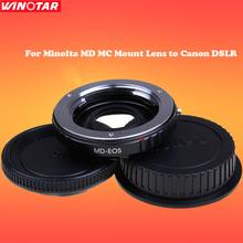 Buy Minolta MD MC Mount Lens Canon DSLR 7650D D750D 700D 650D 80D 70D 60D 50D 40D 7D 6D /5D Mark III/5D Mark IV/5DsR T6s T6i T5i for $29.44 in AliExpress store