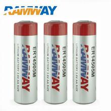 10PCS lot ER14505M 3 6V 2000mAh aa battery size lithium primary battery