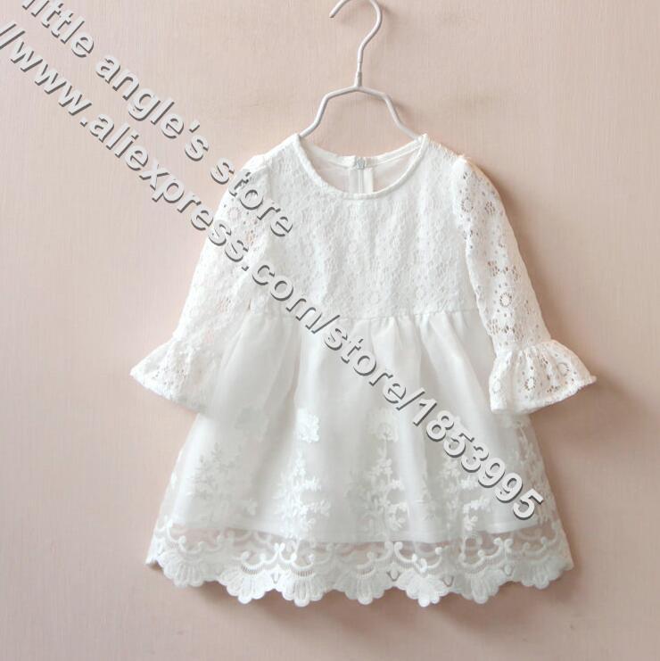 spring 2016 New Kids Girls Princess dress lace dress, children dress girls dress <br><br>Aliexpress