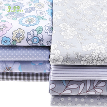 New Printed Twill Cotton Fabric Patchwork Floral Tissue Cloth Of Handmade DIY Quilting Sewing Textile Material Half Meter CC126(China (Mainland))