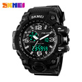 SKMEI Brand Dual Time Wristwatches Casual Outdoor New Men Sport Quartz Watches Waterproof Watch Auto Date