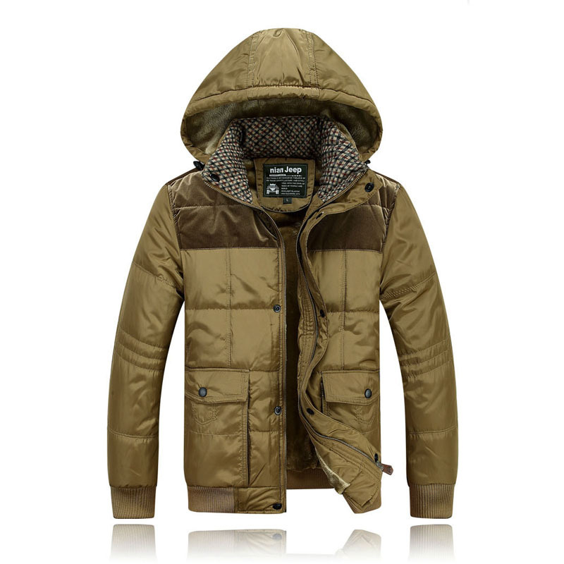 New 2015 Winter Men s Clothes Famous Brand Men Down Jackets Mens Cotton Wadded Jacket Man