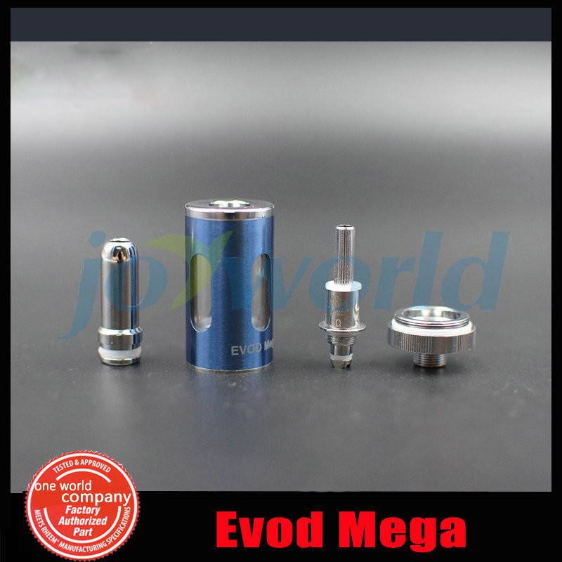 2 100% Authentic Kanger Evod Mega Electronic cigarette Adjustable battery 1900mah  e cig Kanger Evod Mega Starter Kit