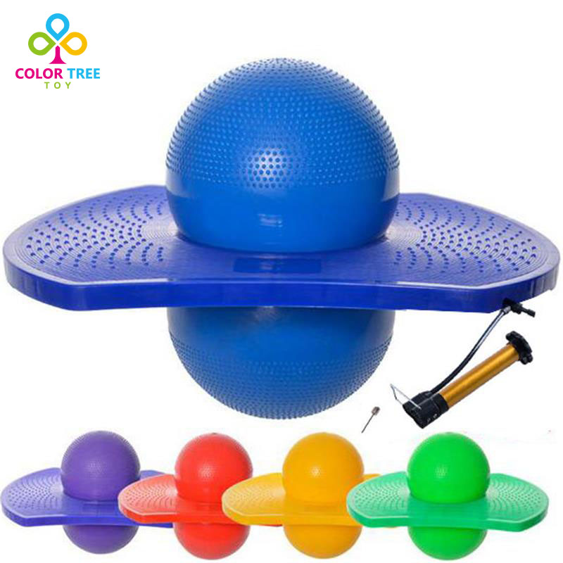 Fun Exercise Children Educational Toy Balance Ball Fitness Toy Bouncing Yoga Ball Children Adult+Pump And Needle(China (Mainland))