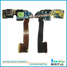 Dock Connector Charger Charging Port Flex Cable for HTC One M8 One2 M8x Micro USB Dock + Mic Microphone,Free shipping ,Original.(China (Mainland))