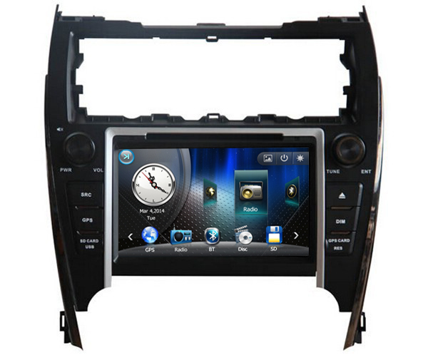 "8"" Touch Screen Car DVD Player GPS Navigation for Toyota 2012 Camry American Version for USA Middle East Market ONLY(China (Mainland))"