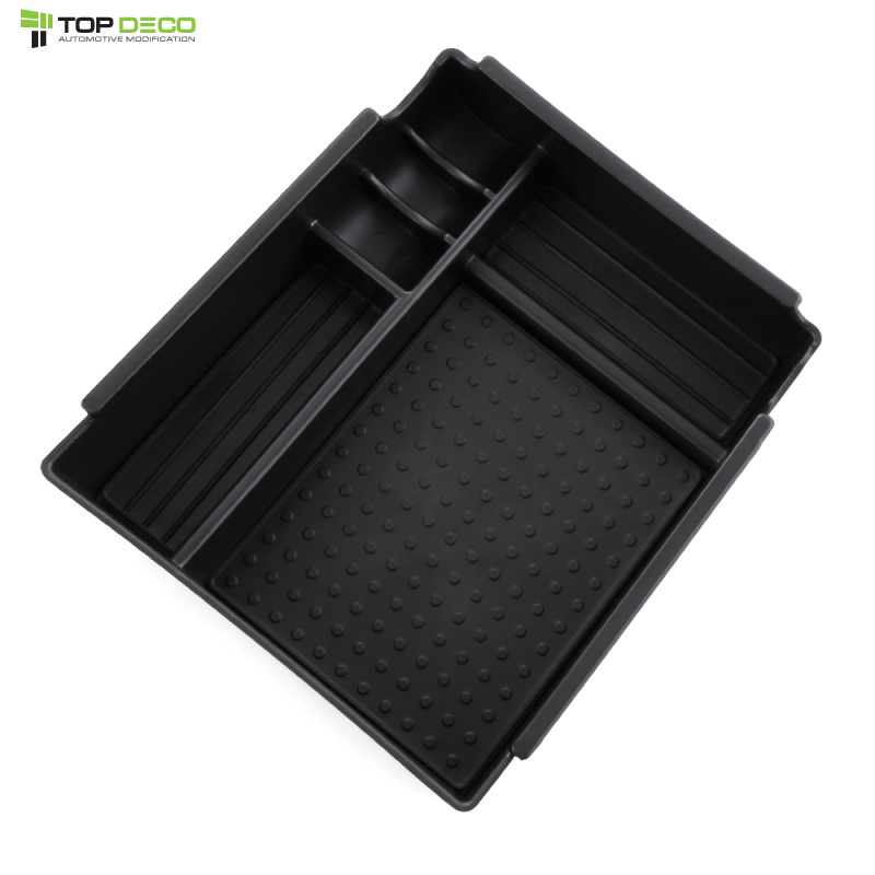 Car Central Armrest Storage Box Holder Tray For Kia Rio K2 2011 2012 2013 2014 Car Styling(China (Mainland))