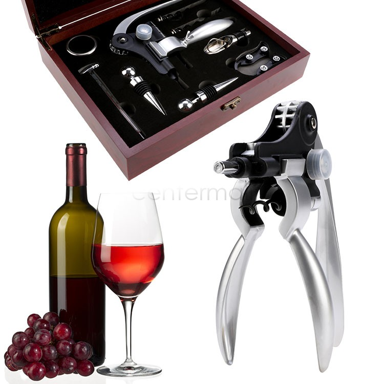Wine Bottle Opener Set Stainless Steel Corkscrew Wine ...