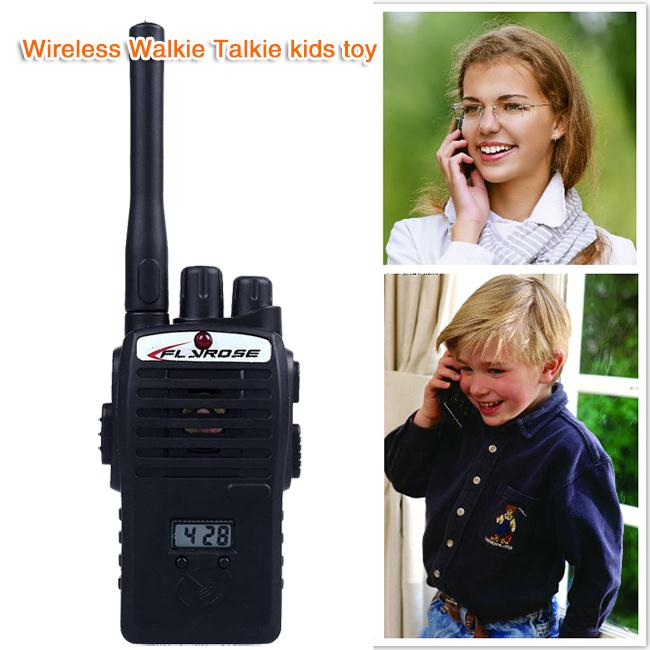 2 PCS Intercom Electronic Walkie Talkie Kids Child Mni Toys Portable Two-Way Radio Hot Selling for Kid Birthday Gifts