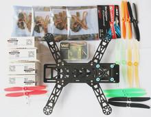La nouvelle H250-2 / QAV280 mini quadcopter cadre kit + moteur + FC + ESC Unassembled bien course FPV mini drone