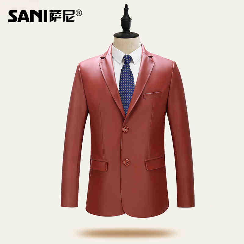 2016 sales genuine sheepskin slim leather clothing