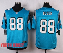 100% Stitiched,Carolina Panthers,Cam Newton,Luke Kuechly,Greg Olsen,for youth,kids(China (Mainland))