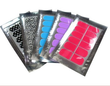 Freeshipping 32 styles nail art wraps sticker foils cover decals metallic decoration nail salon effect Polish strips