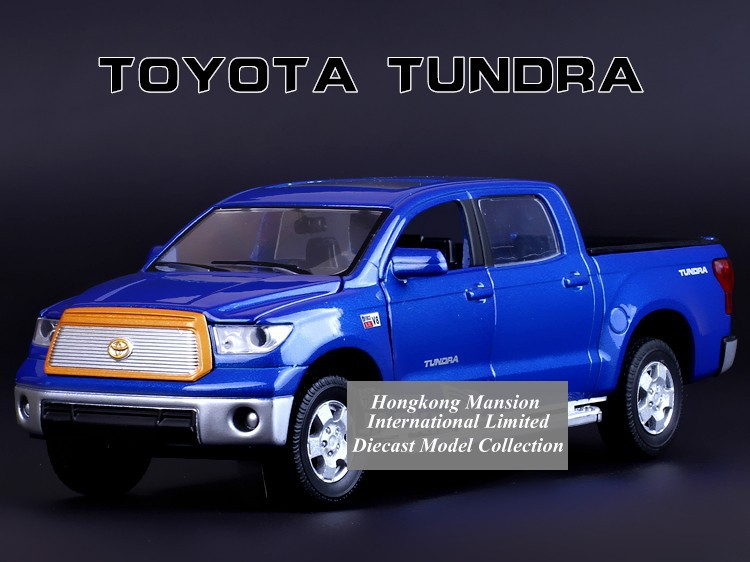1:32 Scale Alloy Diecast Metal Car Model For TOYOTA TUNDRA PICKUP Collection Model Pull Back Truck Toys Car With Sound&Light(China (Mainland))