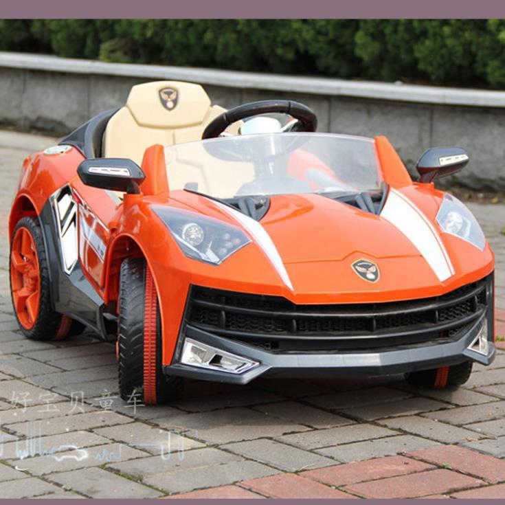 2014 New Children S Electric Car Inflatable Wheel Car Ride
