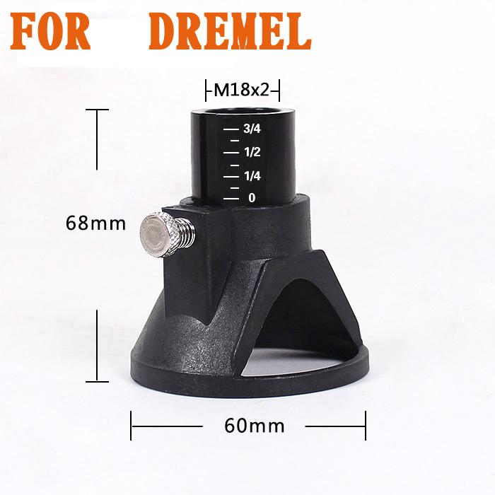 68x60mm dremel accessories located Horn Dremel Drill Dedicated Locator for Dremel drill Rotary accessories 1 pcs<br><br>Aliexpress