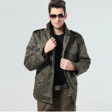 Outdoor JacketsMen Tactical American Army Jacket M65 Camouflage Coat(China (Mainland))