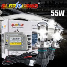 Buy Slim ballast F5 55w Fast bright H4-3 H13-3 9004/9007 XENON HID BULB KIT 4300K 5000K 6000K 8000K 10000K hi lo xenon h4 8000k 55w for $45.82 in AliExpress store
