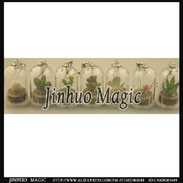Mini Plant cell phone keychains 500pcs/lot for promotion(China (Mainland))