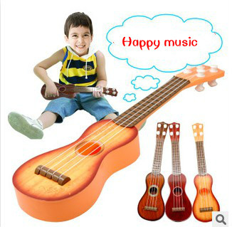kids toys Wooden guitar Can play the children's toys Classic puzzle music guitar toys children education present(China (Mainland))