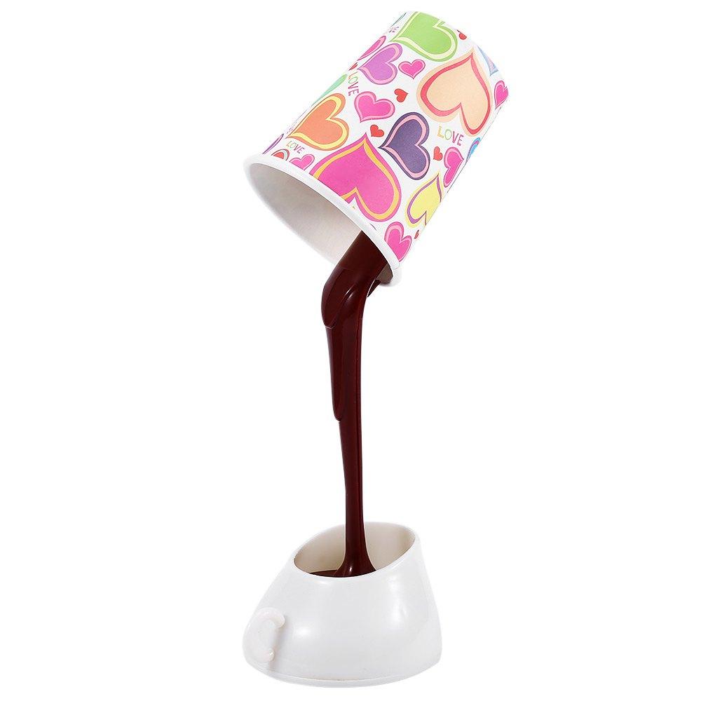 Energy Saving Home Desk Table Lamp USB DIY 8 LEDs Coffee Cup Mug Light Home Decor Night Light Bedroom Decoration(China (Mainland))