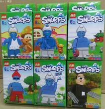 Venta al por mayor JLB 60 unids Building Blocks Super Heroes película figuras de dibujos animados Doraeman Minifigures juguetes de los ladrillos Compatible con Lego