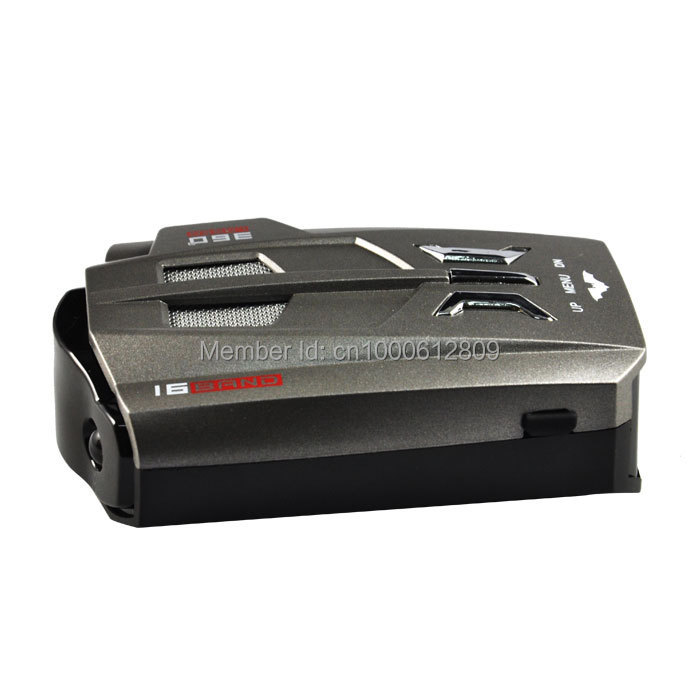 RonEcos Voice Alert 360 degree Radar detector English and Russian option Whole sale price car speeding pre-warning system