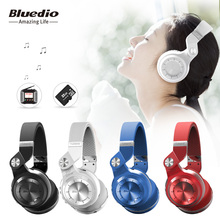 Buy Original Bluedio T2+ foldable bluetooth headphones bluetooth4.1 support FM radio& SD card functions music wireless headset for $26.59 in AliExpress store