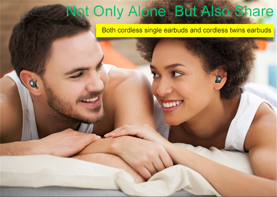 Volemer Hot TWS Bluetooth Headset for iPhone 7 Dual Stereo Wireless Bluetooth Earphone Hifi Earbuds in Ear Headphones PK Q29 H02