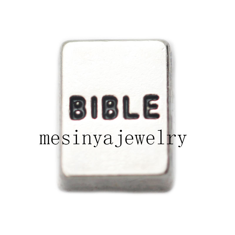 10pcs bible floating charms for glass locket, FC-093(China (Mainland))