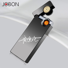 2016 fashion zincok wholesale cross double electric arc electronic cigarette lighter metal double plating smokers