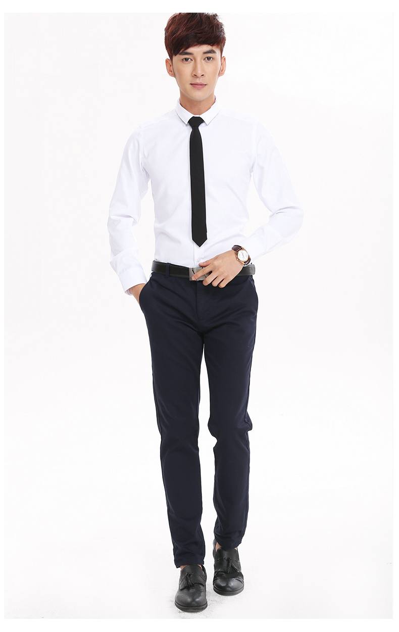 online buy whole professional casual dress for men from fashion male shipping white men s man suit slim long sleeved formal shirt professional business casual