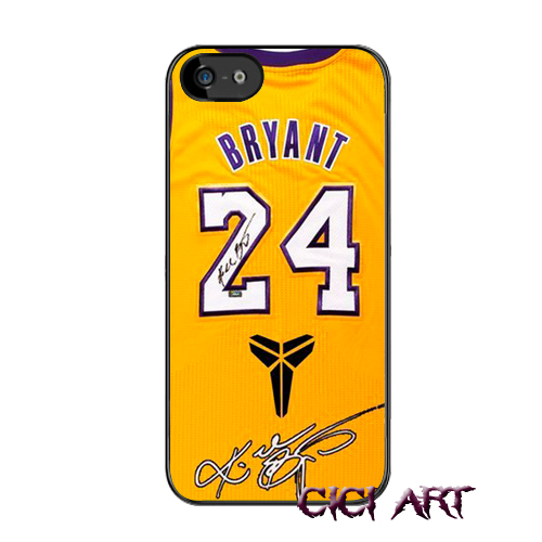 NBA jersey Kobe Bryant No. 24 Case Cover for iPhone 4 4S 5 5S 5C 6 Plus iPod Touch 5 Galaxy S3 S4 S5 Mini S6 edge phone cases(China (Mainland))