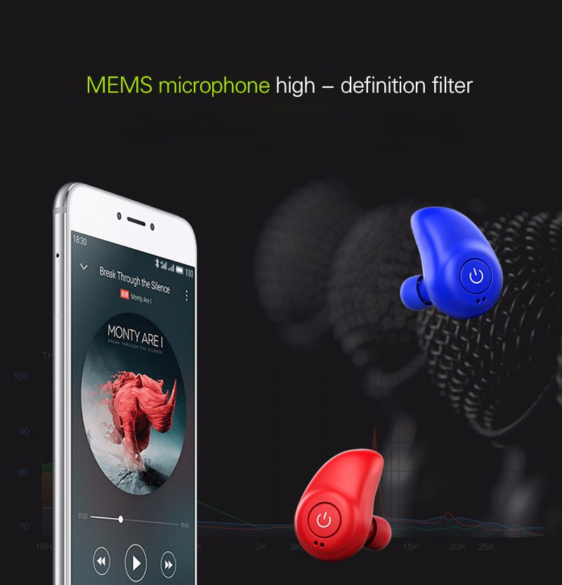 Original i7 Duble ears Earphone Mini Bluetooth Earphone stereo Earbud Sport Dr Earphone for iphone 7 xiaomi Smartphone