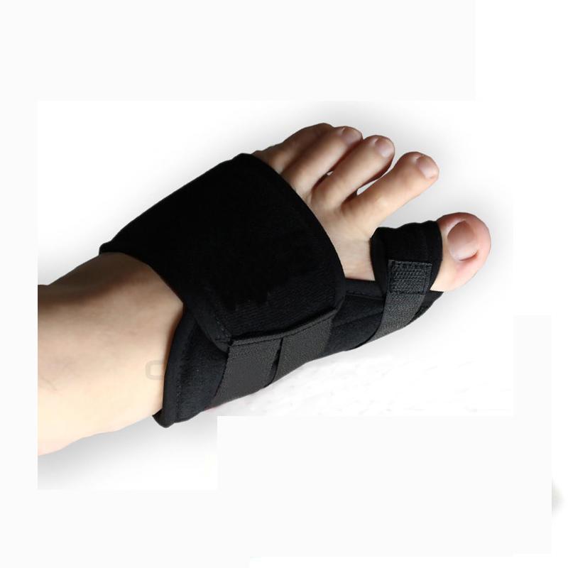 2PCS Soft Bunion Toe Separator Splint Hallux Valgus Correction Pedicure Device Orthotics Bone Thumb Foot Care Tool Pedicura