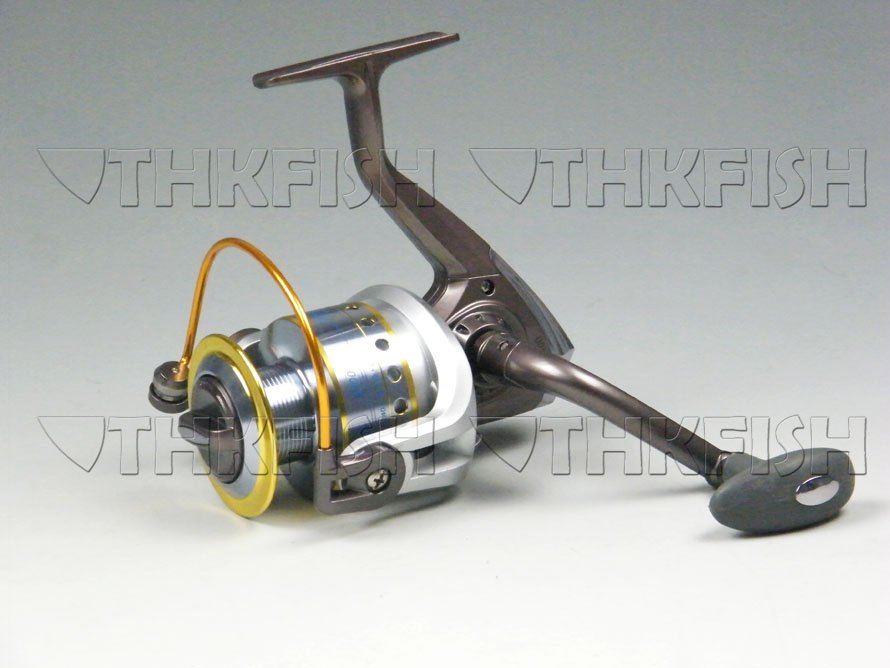 Promotion! 1Pcs 10+1BB 5.1:1 KLG5000 HUIHUANG  Fishing Reels Cast Aluminium Spool Spinning reel<br><br>Aliexpress